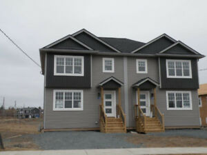 Newly constructed modern semi detached homes available for rent.