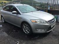 FORD MONDEO 2.0TDCi 140 GHIA SILVER 5 DOOR HATCH 2007
