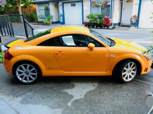 2004 Audi TT 3.2 L (250hp) AWD, V6,  117,xxx km, (rare color)