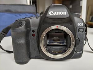 Canon EOS 5D Mark ii (barely used) Body-Only 21.1-Megapixel DSLR