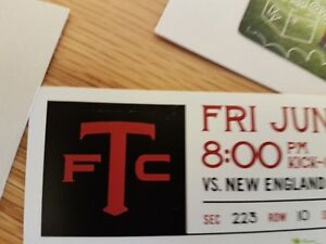 4 tickets to TFC - Friday June 23rd Face value = $84/each