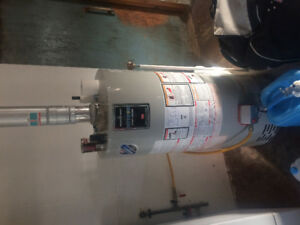 Propane hot water heater