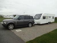Caravan delivery, north west & north wales