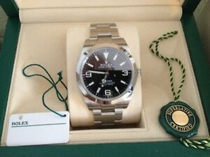 ROLEX EXPLORER REFERENCE # 214270 NEW CONDITION