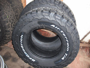 NEW BFG OFF ROAD TIRES