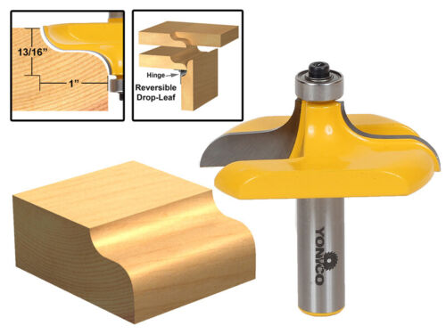 Yonico 13145 Traditional Table Edge Router Bit 1/2-Inch Shan