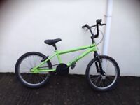 Boys BMX trax bike