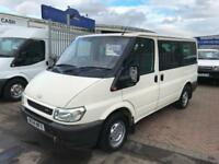 FORD TRANSIT TOURNEO 9 SEATER VAN/MINIBUS VERY SOUGHT AFTER FULL RESPAY NO VAT !
