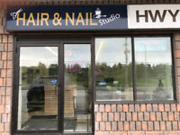 Hair and nail grand opening in Huntsville