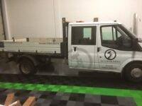 Crew cab tipper for sale.