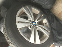 Brandnew rims and tires BMW