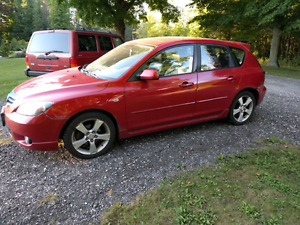 Mazda 3 sport. Must sell.   (Damaged)