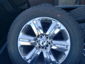"Brand New 2018 20"" Ford F-150 Lariat factory wheels/tpms /Tires"