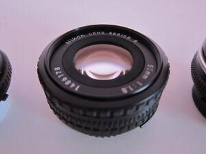 Nikon F Mount Manual Focus Prime/Zoom Lenses