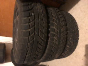 4 Snow Tires 185/65R14 Rims 4x108 BP