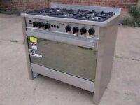 Universal 6 Burner LPG Cooker & Oven - EN347