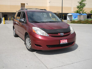 2009 Toyota Sienna, Auto,7 pass, certify,3/Y warranty available