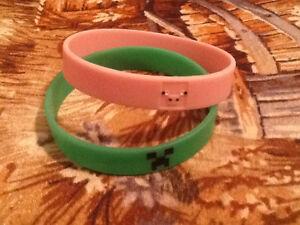 Pig & Creeper Minecraft Bracelets Cornwall Ontario image 1