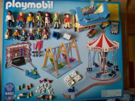 Playmobil 9482 Family Fun - Funfair and Ferris Wheel