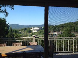 Chalet à louer -magnifique vue sur le Château Bromont