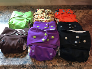 Funky Fluff Diapers & Accessories