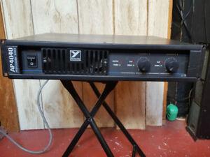 Yorkville AP4040 Power Amp.
