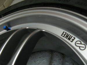 "Enkei RPF1 17"" 17x7.5 5x100 +48mm ExtremeContact DW 225 45 17 VW"