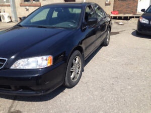 2001 Acura TL Certified Warranty
