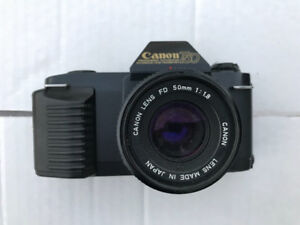 Canon T50 Film Camera 50 MM Japanese Lens