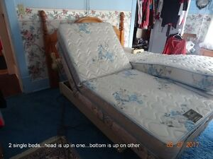 Adjustable Single Bed  (Reduced Price) Cornwall Ontario image 2