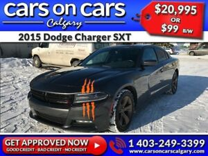 2015 Dodge Charger SXT w/Custom Exhaust, BlueTooth, USB Connect