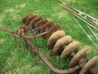 old  set of  Disc   harrows
