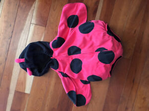 Ladybug Halloween costume by Carters (girls). New and clean