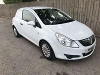 2009 09 Vauxhall Corsa van 1.3 CDTi 16v ecoflex 5 speed 74.3 mpg