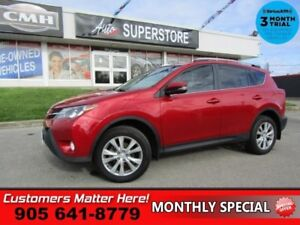 2015 Toyota RAV4 Limited  (NEW TIRES) AWD NAV ROOF LEATH P/GATE