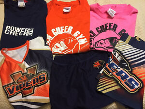 Power cheer gym PCG vipers girls size 8-10