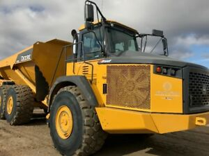 2014 John Deere 410E ADT Rock Truck for Rent