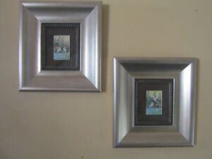 Two Framed Watercolors