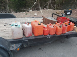 Gas cans.  All for 20 bucks