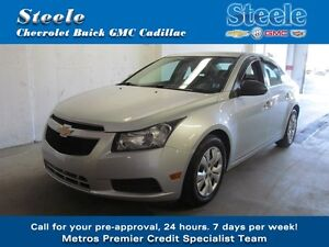 2012 Chevrolet CRUZE lS 5-SPEED !!!