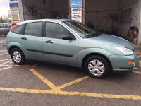 Ford Focus LX, 1999/T, only 27000 miles, excellent condition, £895
