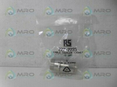 RS COMPONENTS 227-7735 CABLE COUPLER SOCKET *NEW IN FACTORY BAG* for sale  Shipping to India