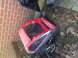 Schwinn double seater bike trailer