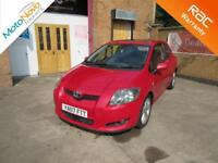 2007 Toyota Auris 2.2D-4D T180 Manual Hatchback in Red For Sale