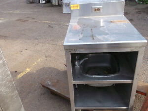 Stainless Steel Counter with Sink,  #772-14