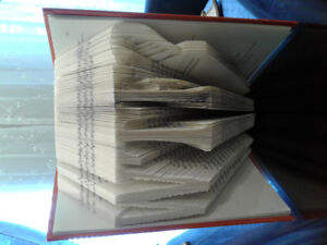 WTF?  Created inside a hardcover book