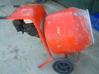 Petrol Belle Minimix 150 Cement / Concrete Mixer Honda Engine