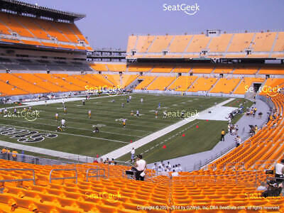 2 PITTSBURGH STEELERS TICKETS vs HOUSTON TEXANS  9/27  - LOWERS