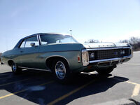 1969 Impala 396 Matching Numbers Drives as new $10900