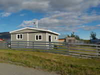 Completely renovated starter home or weekend getaway in Atlin